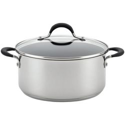 Circulon Momentum 5 qt. Stainless Steel Dutch Oven