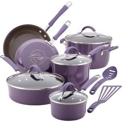Rachael Ray 12-pc. Enamel Cookware Set