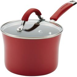 Rachael Ray Cucina Covered Porcelain Saucepan