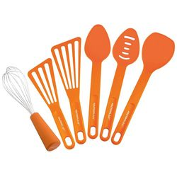 Rachael Ray Nylon 6-pc. Orange Tool Set