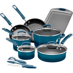 14-pc. Nonstick Enamel Cookware Set