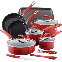 Rachael Ray 14-pc. Nonstick Enamel Cookware Set