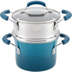 Rachael Ray 3 qt. Nonstick Steamer Set
