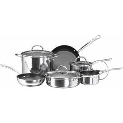 Farberware Millennium Nonstick 10-pc. Cookware Set