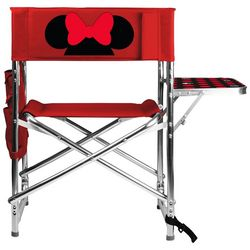 Picnic Time Minnie Mouse Folding Sports Chair