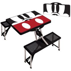 Picnic Time Mickey Mouse Picnic Table Sport Folding Table