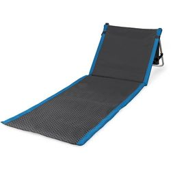 Picnic Time Beachcomber Waves Portable Beach Mat
