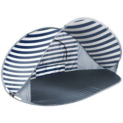 Onvia Manta Navy & White Stripe Portable Beach