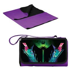 Picnic Time Sleeping Beauty Maleficent Picnic Blanket Tote