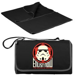 Picnic Time Star Wars Storm Trooper Picnic Blanket Tote
