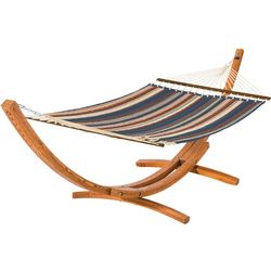 Classic Accessories Montlake Quilted Hammock With Wood Stand