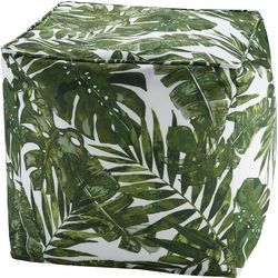 Madison Park Everett 3M Scotchgard Outdoor Pouf