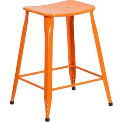 Flash Furniture 24'' Metal Counter Height Stool
