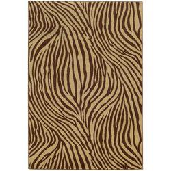 Tommy Bahama Voyage Zebra Print Area Rug