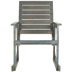Safavieh Alexei Ash Grey Rocking Chair