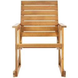 Safavieh Alexei Natural Brown Rocking Chair