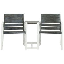Safavieh Jovanna Ash Grey 2 Seat Bench