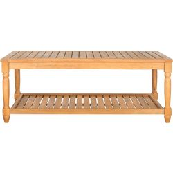 Safavieh Oakley Teak Outdoor Coffee Table