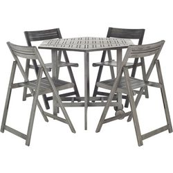 Safavieh 5-pc. Kerman Grey Patio Dining Set