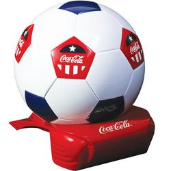 Koolatron Coca Cola Soccer Ball Fridge