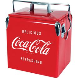 Koolatron Coca Cola Vintage Chest Cooler