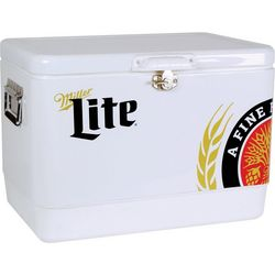 Koolatron Miller Lite Metal Chest Cooler