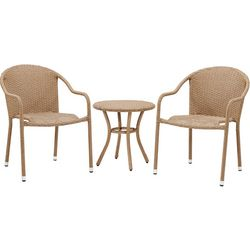 Crosley Palm Harbor 3-pc. Outdoor Wicker Cafe Seating Set
