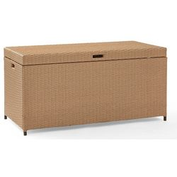 Crosley Palm Harbor Outdoor Wicker Storage Bin
