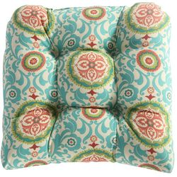 Waverly Lexie Medallion Outdoor Dining Chair Cushion