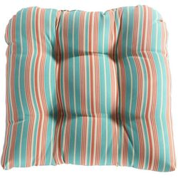 Waverly Lexie Stripe Outdoor Dining Chair Cushion