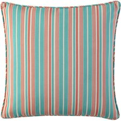 Waverly Lexie Stripe Square Outdoor Throw Pillow