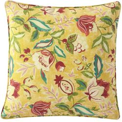 Waverly Lexie Floral Square Outdoor Throw Pillow