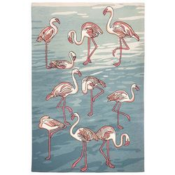 Liora Manne Frontporch Flamingo Indoor/Outdoor Area Rug