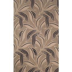 Liora Manne Ravella Natural Leaf Indoor/Outdoor Area Rug