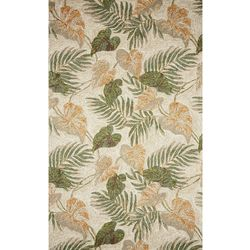 Liora Manne Ravella Tropical Leaf Indoor/Outdoor Area Rug