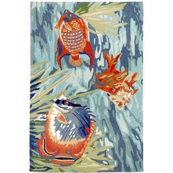 Liora Manne Ravella Tropical Fish Indoor/Outdoor Area Rug