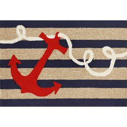Liora Manne Frontporch Anchor Accent Rug