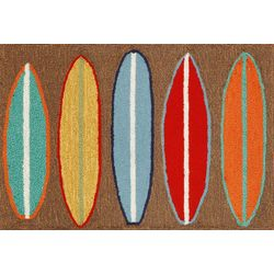 Liora Manne Frontporch Surfboards Accent Rug