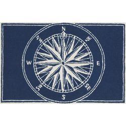 Liora Manne Frontporch Compass Accent Rug