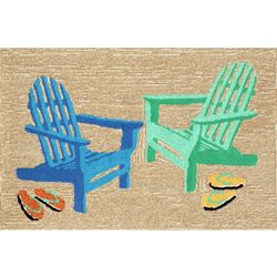 Liora Manne Frontporch Adirondack Seaside Accent Rug