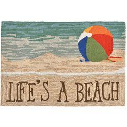 Liora Manne Frontporch Life's A Beach Accent Rug