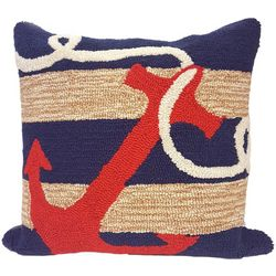 Liora Manne Frontporch Anchor Square Pillow