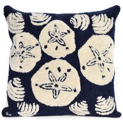 Liora Manne Frontporch Shells Square Pillow