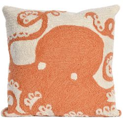 Liora Manne Frontporch Octopus Square Pillow