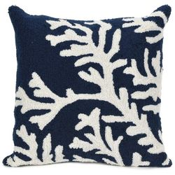 Liora Manne Frontporch Coral Square Pillow