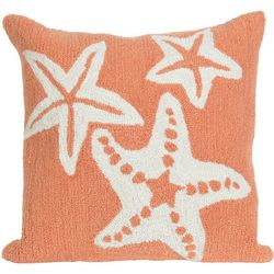 Liora Manne Frontporch Starfish Square Pillow