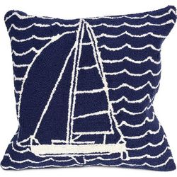 Liora Manne Frontporch Sails Square Pillow