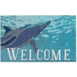 Liora Manne Natura Dolphin Outdoor Mat