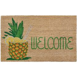 Liora Manne Natura Welcome Pineapple Outdoor Mat