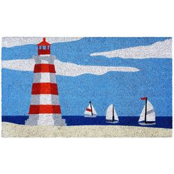 Liora Manne Natura Lighthouse Outdoor Mat